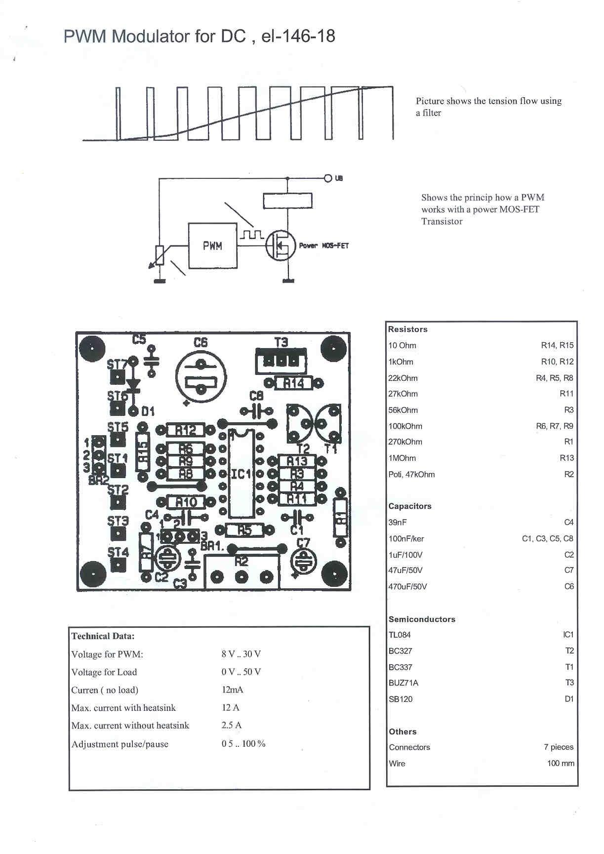 Pwm1jpg 183 Kbyte Page 1 Original Pwm Driver Circuit Found On